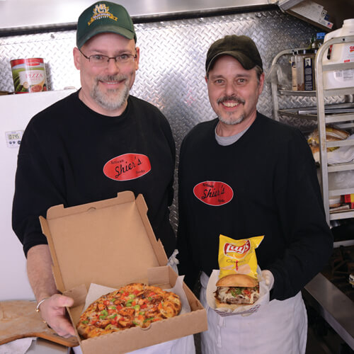 Cliff Dawson and George Shier of Shier's Artisan Foods