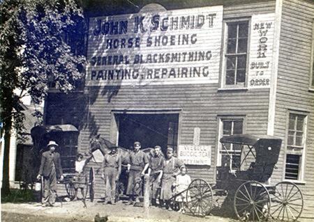 Schmidt blacksmithing