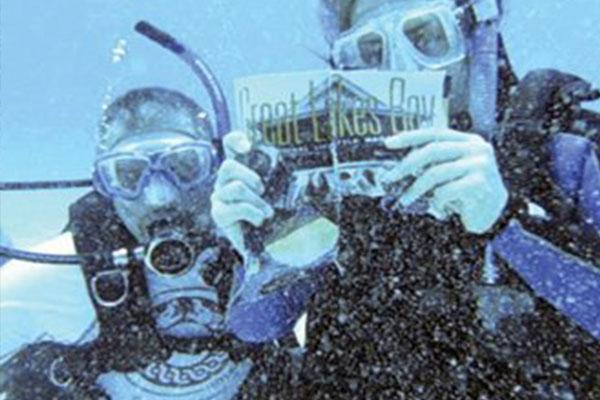 Underwater issue
